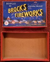 For Sale - Display of Brock's Fireworks 5'- Box - Empty
